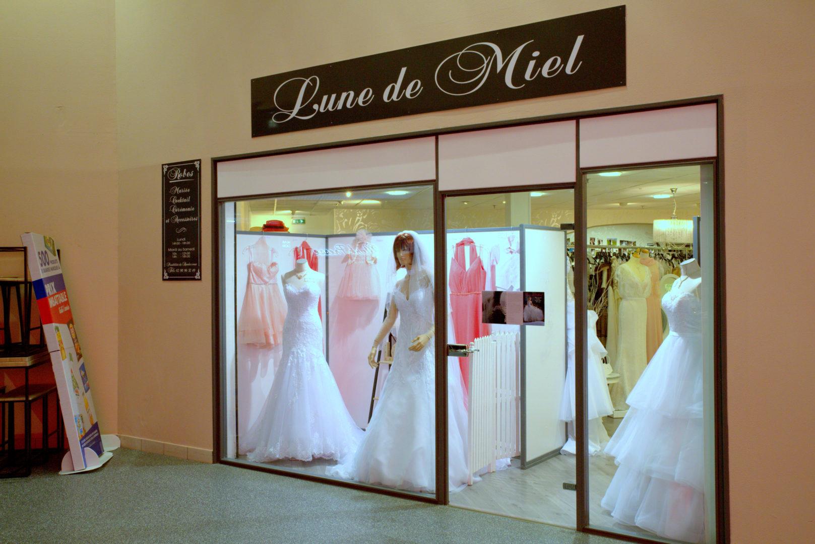 Boutique Lune de Miel Robes de Mariées 1 - Accueil